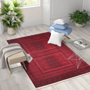 שטיח דגם Afghan 7456