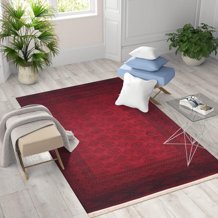 שטיח דגם Afghan 7457