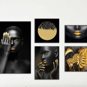 סט גלריה נשים בשחור