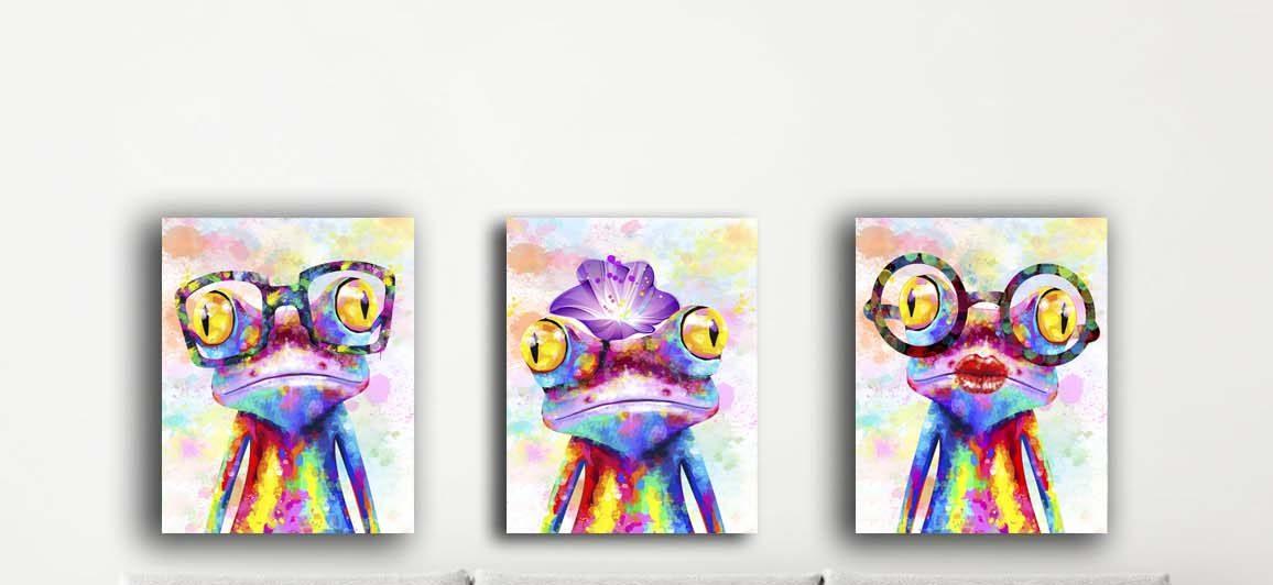 תמונות שלישית צפרדעים