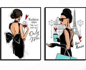 זוג תמונות Fashion-in-Paris
